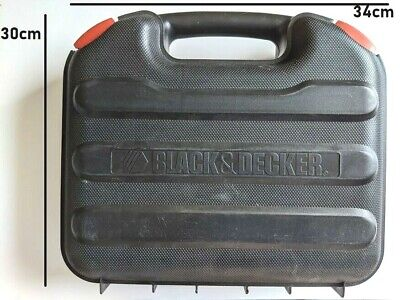 £17.95 • Buy Carry CASE ONLY For Black & Decker Drill Storage Box Tool Organiser EMPTY Tidy