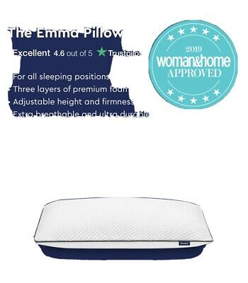 NEW * Emma Memory Foam Pillow • 25£