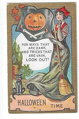 $ CDN26 • Buy 'Halloween Time' - Beautiful Card In VG+ To Excellent Condition! NR