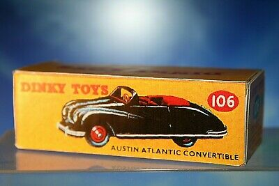 £3.75 • Buy Dinky Toys Styled Austin Atlantic Convertible Box Number 106
