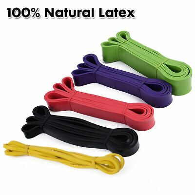 AU28.95 • Buy Heavy Duty Resistance Yoga Bands Loop Exercise Fitness Workout Band Gym Workout
