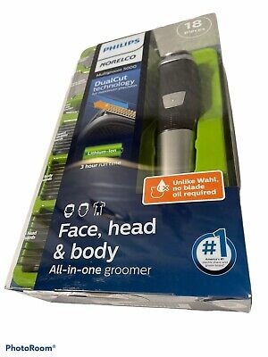 AU38.62 • Buy Philips Norelco 5000 Multigroom Hair Trimmer With 18 Attachments - MG5750/18
