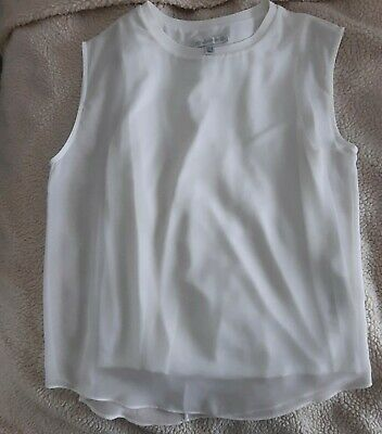 AU22 • Buy Women's Forever New Sleeveless Top. White. Size 10