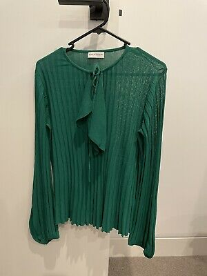 AU200 • Buy Scanlan Theodore Size 10 Crepe Knit Top