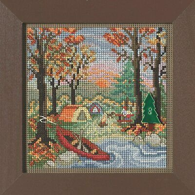 $11.49 • Buy MILL HILL Buttons Beads Kit Counted Cross Stitch OUTDOOR ADVENTURE Fall Autumn