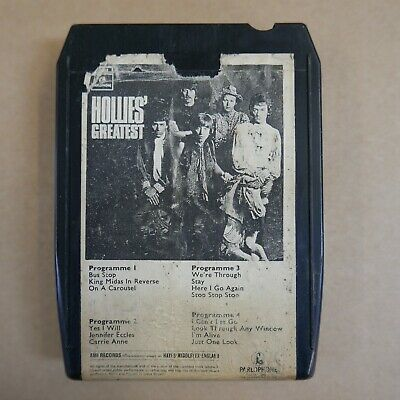 AU18.02 • Buy 8 Track Cartridge THE HOLLIES Greatest Hits