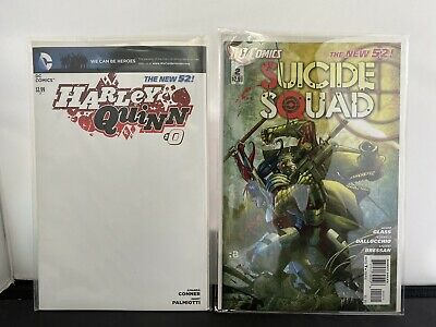 $ CDN12.10 • Buy The New 52 Harley Quinn #0 Variant Cover & Suicide Squad 2