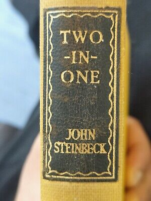 Two-In-One, Of Mice And Men, Cannery Row By Steinbeck. John • 11£