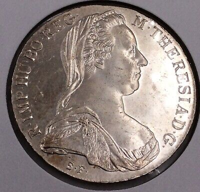 AU64.90 • Buy Restrike 1780 8 Reales Colonial Mexico Silver Coin