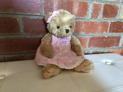 "Harrods Plush Teddy Bear, 13"" Lovely Clean Condition. • 2.99£"
