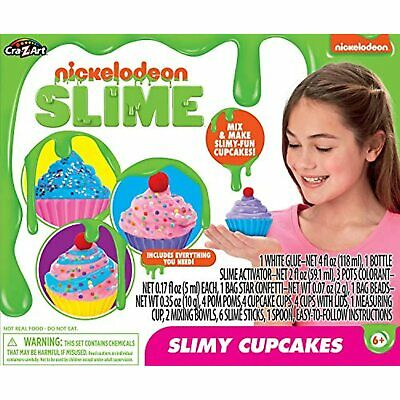 AU20.59 • Buy Cra-Z-Art Nickelodeon Slime Slimy Cupcakes Kit