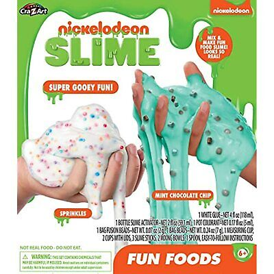 AU18.98 • Buy Cra-Z-Art Nickelodeon Slime Fun Foods Slime Kit