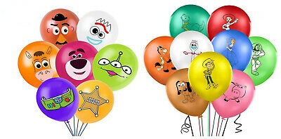 £5.99 • Buy Toy Story Balloons 12  Latex Birthday Party Decoration Kids Woody Forky Party Uk
