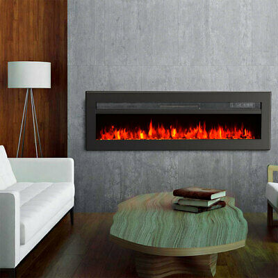 £195.95 • Buy 9 Flame Electric Fire Fireplace Insert/Wall Mount/Free Stand With Remote Stove