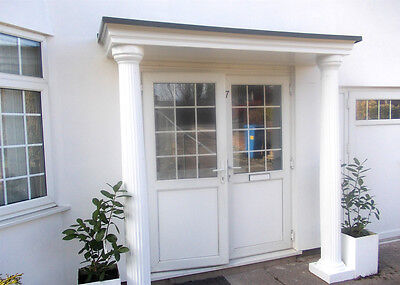 £769 • Buy Sienna GRP Complete Door Entrance Canopy And Columns Pillars Package. Porch Kit