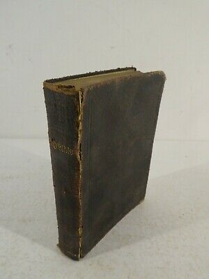 £55 • Buy Antique Eyre And Spottiswoode British And Foreign Bible Society Holy Bible I2