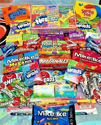 £3 • Buy American Sweets Candy - Mike&Ike - AirHeads - Jolly Ranchers - Nerds - Warheads