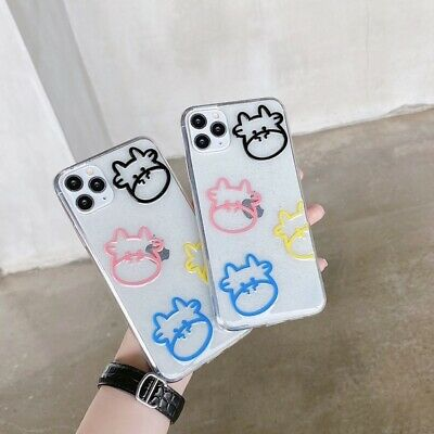 AU6.69 • Buy Glitter Cow Phone Case For IPhone 7 8 11 12 Pro Max XS XR Clear TPU Soft Cover