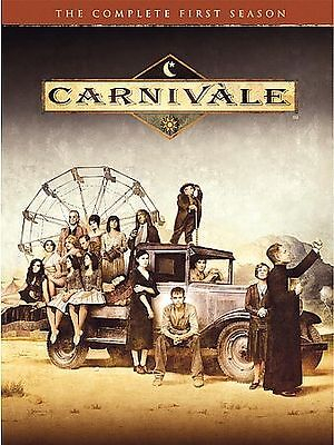 CARNIVALE  THE  COMPLETE FIRST SEASON-6 DVD Set  • 14.14£