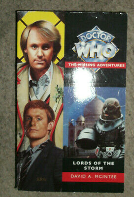 Doctor Who The Missing Adventures Lords Of The Storm • 5.50£