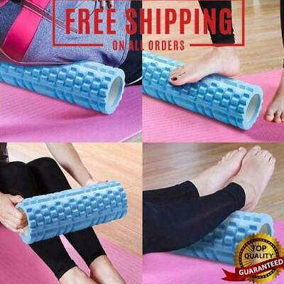 AU14.15 • Buy Fitness Yoga Foam Roller Deeply Relaxing Muscle Massager Pilates Gym Roller Soft