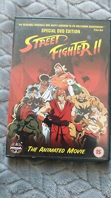 £10.29 • Buy Street Fighter 2 - The Animated Movie [1994] [DVD] - DVD  RHVG The Cheap Fast