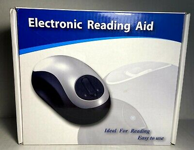 £40.72 • Buy Wired Electronic Reading Aid Mouse Magnifier TV/AV Output Mouse Reading Aid-TOP