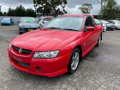 AU6990 • Buy 2004 Holden Commodore VZ S Red Automatic 4sp A Utility