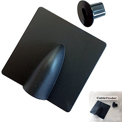 8mm - Black Brick Blast Buster & Bush/Grommet Cable Hole Cover Kit – Indoor & - • 6.23£