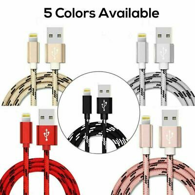 AU5.90 • Buy FAST Charging Cable Charger Cord For IPhone 12 11 10 8 7 6 5 IPad 8 7 6 Nonoem