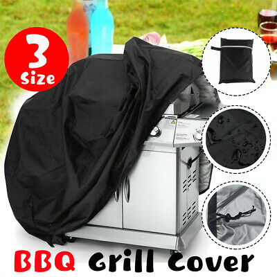 AU16.96 • Buy Barbecue BBQ Cover 2 4 6 Burner Waterproof Gas Charcoal Grill Protector Outdoo