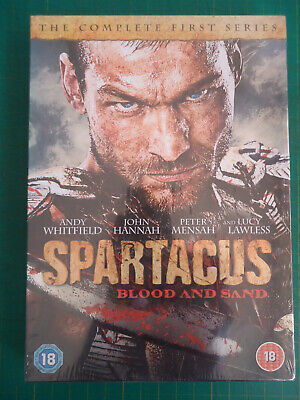 * SPARTACUS BLOOD & SAND Season 1 (Anchor Bay UK 4xDVD 2011) Andy Whitfield NEW! • 3.99£