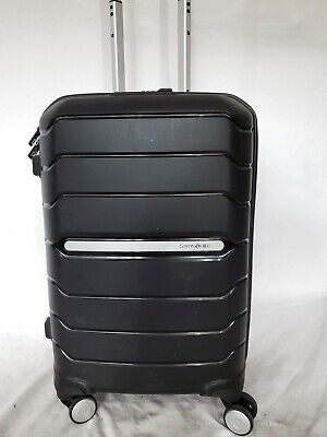 "View Details $340 Samsonite Freeform 21"" Hard Carry-On Spinner Luggage Suitcase Black TSA • 80.99$"