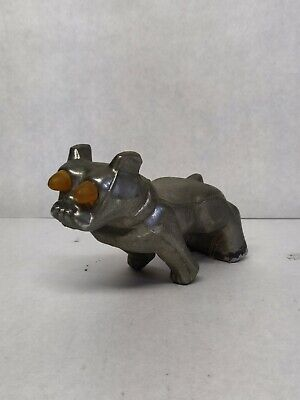 $49.99 • Buy Vintage Mack Truck Bull Dog With Eyes That Can Be Lighted-Chrome-Hood Ornament