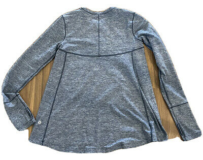 $ CDN42.20 • Buy Lululemon Long Sleeve Aline Top Size 4 Cad (8 To 10 Aust)