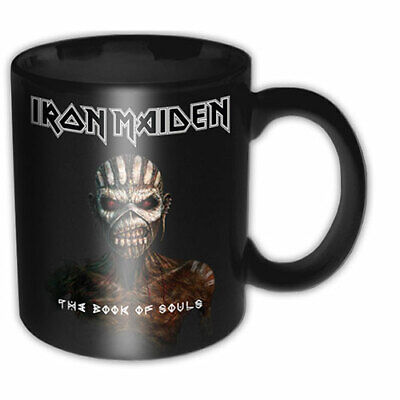 £7.99 • Buy IRON MAIDEN The Book Of Souls Boxed Mug