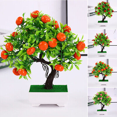 £7.97 • Buy Artificial Potted Plant Simulation 23 Fruits Fake Display Home Wedding Garden