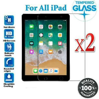 AU9.99 • Buy 2 Tempered Glass Screen Protector For IPad 8th 7th Gen 10.2  6th Gen 9.7 Nonoem