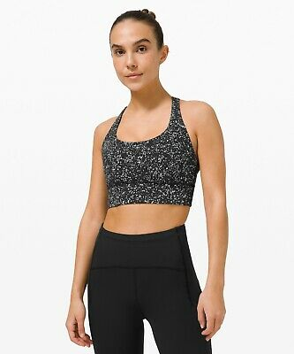 $ CDN84.91 • Buy NEW Lululemon Energy Bra Long Line Reflective B-D CUP  Size 8-10-12 (Runs Small)
