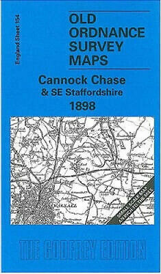 £4.30 • Buy Cannock Chase And SE Staffordshire 1898: One Inch Map 154 (Old Ordnance Survey