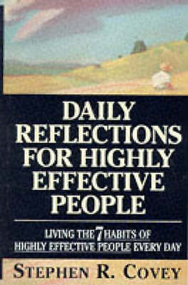 AU1.76 • Buy Daily Reflections For Highly Effective People: Living The  7 Habits Of Highly...