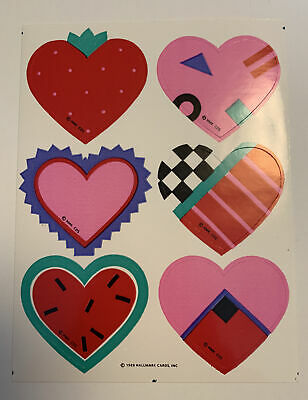 AU3.80 • Buy Vintage 80's Hallmark Sticker Sheet