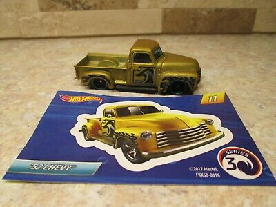 AU3.17 • Buy Hot Wheels '52 Chevy Pickup Truck Mystery Models With Sticker