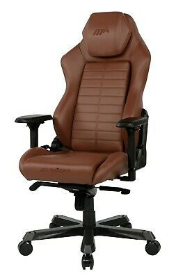 AU599 • Buy DXracer Master Series Office/Gaming Chairs - Brown. Brand New!