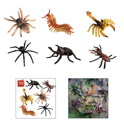 £3.33 • Buy 6pcs Realistic Artificial Insects Figures Toys Educational Cognitive Toy