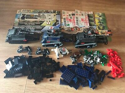 $ CDN15.16 • Buy Gi Joe Cobra Kreo Kre-o Parts Lot Hiss Tank Flight Pod Terror Drome Dojo