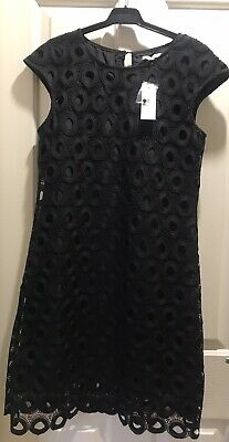 AU32.50 • Buy Target Dress 14,lace,black,lined,sleevless,brand New With Tags