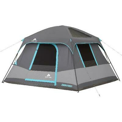 AU179.23 • Buy 6 Person Portable Dark Rest Cabin Tent 10 X 9' Instant Shelter Outdoor Camp Gray