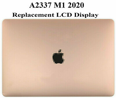 $299 • Buy NEW LCD Screen Display Full Assembly Rose Gold For MacBook Air 13  M1 A2337 2020