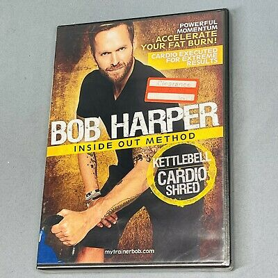 Bob Harper Inside Out Method  Kettlebell Cardio Shred  DVD (2010) NEW Sealed • 7.38£